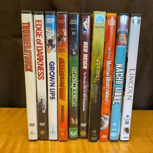Family movies -lot of DVD's